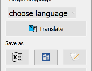 Get Audio and Translate with Excel